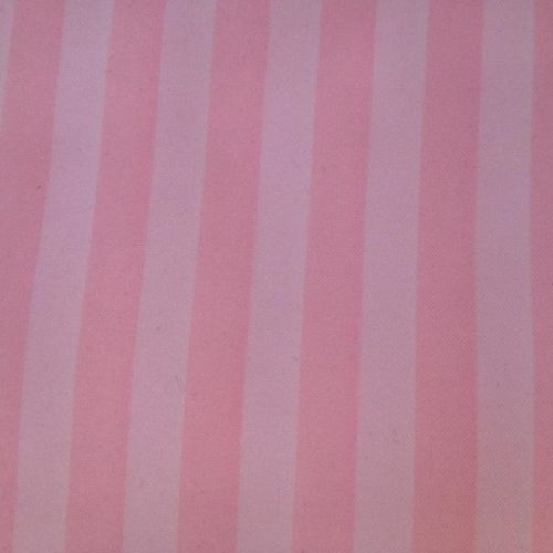 Light pink and white stripe runner | Anrule